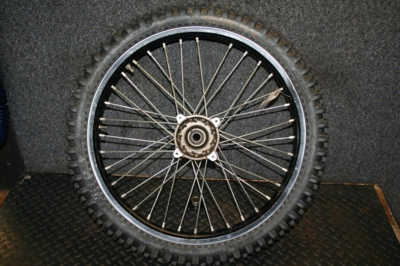 KX250F KX250 Front Wheel Hub Rim Spoke OEM damaged