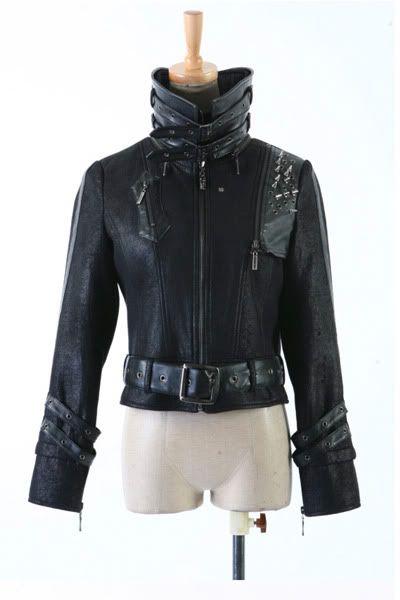UNISEX Gothic Punk Rave Visual Kei Knight Coat Jacket