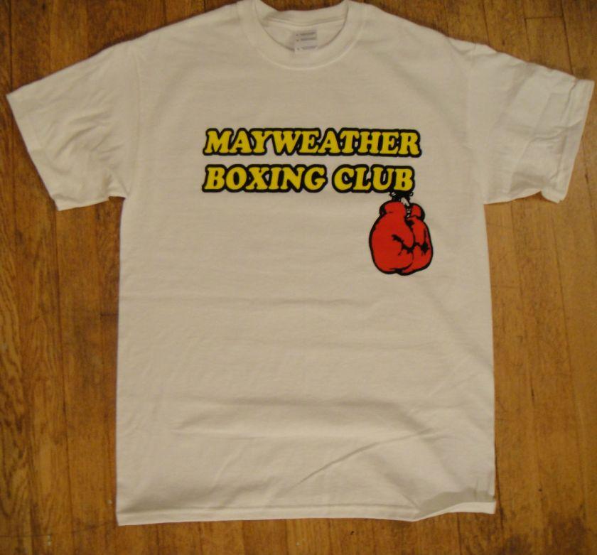 Mayweather Boxing Club t shirt 24/7 Floyd jr. S  XL