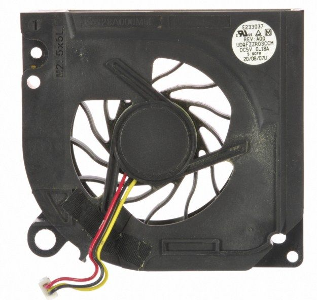 This listing is for a Dell Latitude D630 14 Laptop Parts Cpu Fan