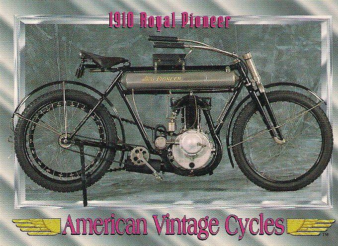 1910 Royal Pioneer Motorcycle Engine 30.5 cu. in. Single Cylinder