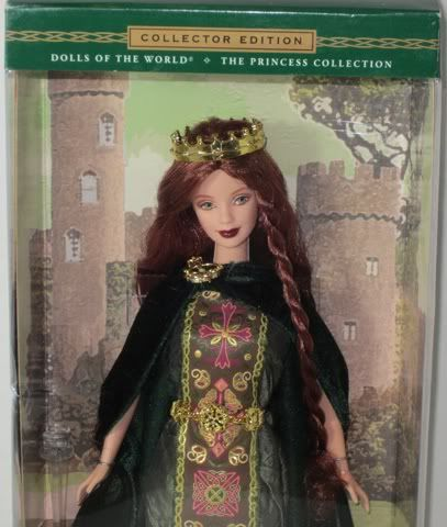 barbie collector edition princess of ireland